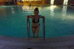 na basenie termalnym