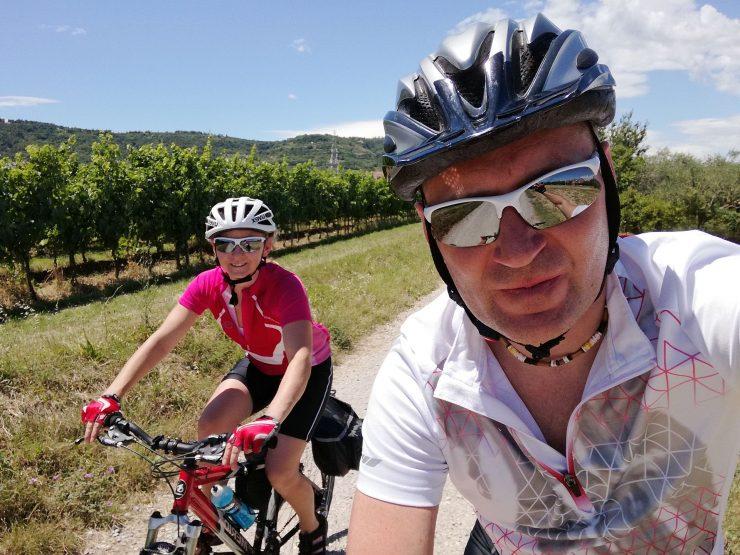 Trasa rowerowa Parenzana. Triest, Włochy - Porec, Chorwacja.